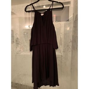 Black SPLENDID spaghetti strap sundress